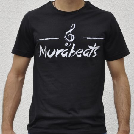 Murabeats T-shirt (black-white)